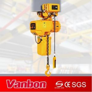Heavy Load 5 Ton Electric Chain Hoist with Motorized Trolley pictures & photos