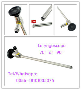 Ce Approved Rigid Laryngoscope Not Autoclavable E. N. T. Throat Endoscope pictures & photos