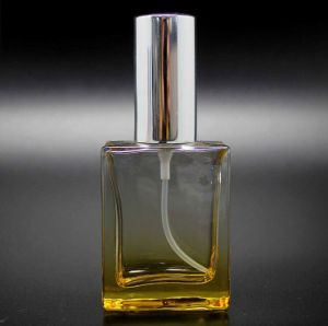 (LJ1271) 30ml Colorful Square Perfume Glass Bottle