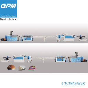 Plastic Foam Board Production Line / Extrusion Machine for PVC PE pictures & photos