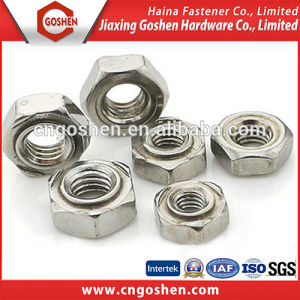 DIN929 Stainless Steel Hex Weld Nuts M3-16 pictures & photos