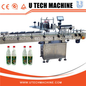 High Quality Flat Bottle Sticker Labeling Machine pictures & photos