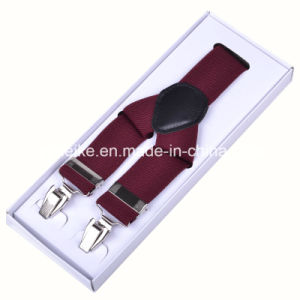 Classical Men Suspenders Plain Multicolor (BD1003) pictures & photos
