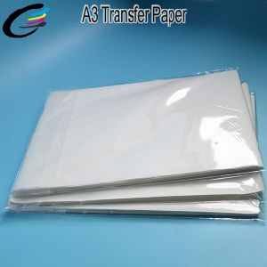 Factory Direct Supply Light Inkjet Heat Transfer Paper A3 pictures & photos