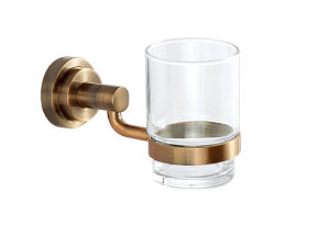 Stainless Steel Bathroom Hardware Single Tumbler Holder