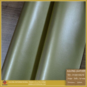 DMF Free Antifouling PU Leather (CPU007) pictures & photos