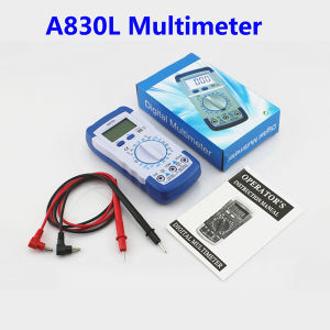Manufacturer Pocket Digital Multimeter A830L Digital Volt Ohm AMP Multimeter pictures & photos