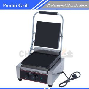 Electric Grill Non Stick Cast Iron Panini Grill Chz-810b pictures & photos
