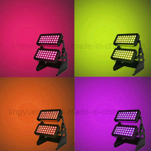 Outdoor 72X10W RGBW 4in1 City Color LED Wall Washer pictures & photos