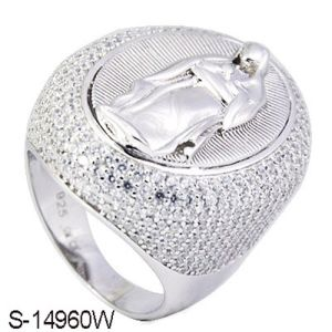 Factory Wholesale Silver Ring Fine Jewelry pictures & photos