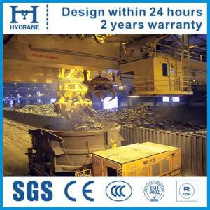 Double Beam Magnetic Overhead Crane for Billets, Scraps