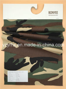 Finished Fabric 100% Cotton Twill Peach Printed Camouflage pictures & photos