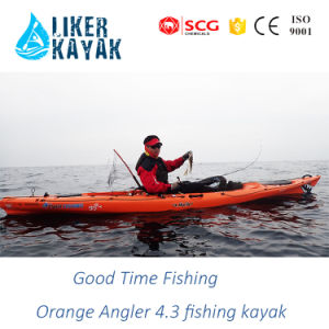 Liker HDPE/LLDPE PRO Fishing Sit on Top Kayaks pictures & photos