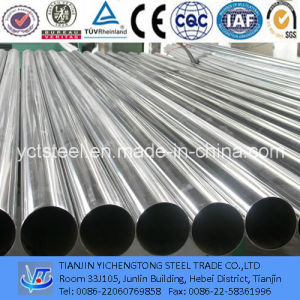 304 Bright Finish Galvanized Stainless Steel Tube for Decoration pictures & photos