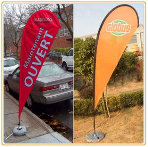 3.5m Teardrop Flying Banner, Outdoor Banner, Beach Flag pictures & photos