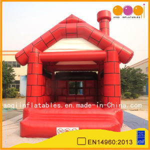 Brick Cabin Inflatables Bouncer Kid Trampoline (AQ02103-4) pictures & photos