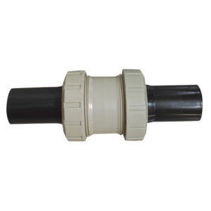 Best New Pph Socket Vetical Check Valve+PE Pipe, Industrial Plastic Valve, PVC Valve pictures & photos