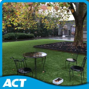 High Dense Artificial Grass Garden Commercial Place Good Drainage Base pictures & photos