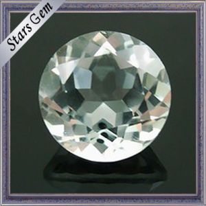 Bulk Sale Factory Price Round Natural Clear White Topaz pictures & photos