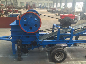 Stone Jaw Crusher, Rock Crusher, Mobile Crusher Plant pictures & photos