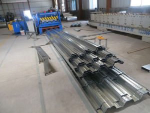Zinc Coated Composite Steel Floor Decking Sheet pictures & photos