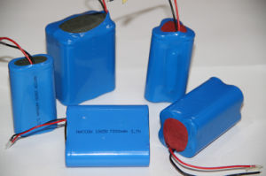 Li-ion Cylindrical Battery 18650 Battery (3.7V, 18650, 2700mAh) pictures & photos