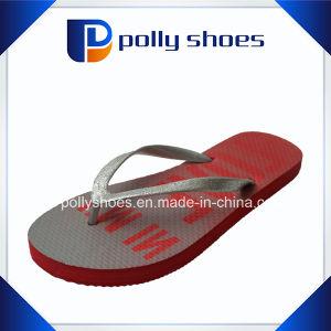 Women′s Beach Printed Flip Flop Sandal pictures & photos