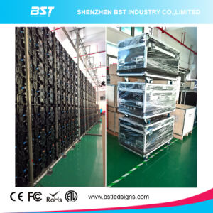 Low Price P3.91mm Indoor Rental Full Color LED Screen with Die Casting Cabinet pictures & photos