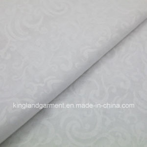 Polyester White Embross Wide Width Inherently Fire Retardant Fireproof Voile pictures & photos