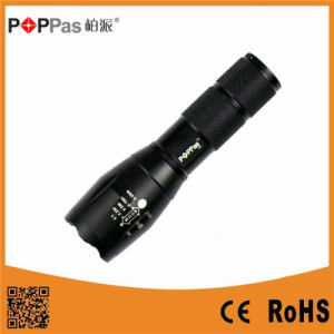 Poppas S2 3.7V Rechargeable Xml T6 LED Bulb LED Flashlight Torch pictures & photos