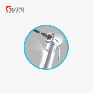 Tealth Fiber Optic 20: 1 Reduction Surgery Implant Contra-Angle Handpiece pictures & photos