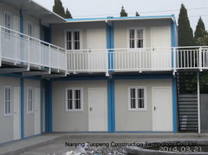 Two Storey Modular House with Bathroom Use as Dormitory pictures & photos
