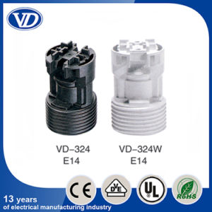 E14 Plastic Lamp Holder Vd324W pictures & photos