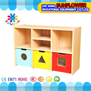 Wooden Toy Cupboard, Kids Kindergarten Furniture pictures & photos