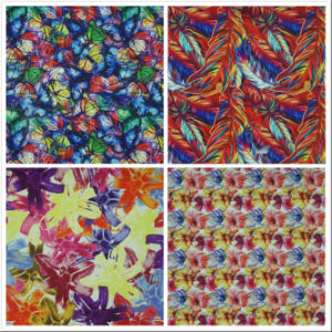 Oxford 600d Flower Printing Polyester Fabric (KL) pictures & photos