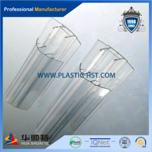 Popular PC Sheet Connector Transparent Polycarbonate Profile pictures & photos