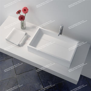 2015 New Solid Surface Bathroom Wash Basin (JZ1014)