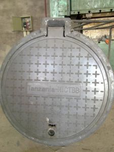 Round Composite Manhole Cover with Lock