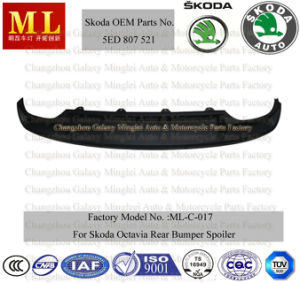 Auto Body Parts for Skoda Octavia Spoiler From 2012 (5ED 807 521) pictures & photos