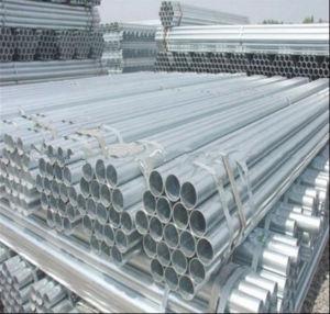 Q195 Mild Carbon Hot DIP 1.5inch Galvanized Steel Round Pipe pictures & photos
