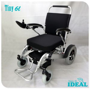 Tiny 6L Portable Electric Wheelchair for Travel pictures & photos