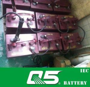 6V195AH (WPST-125) , Deep Cycle Golf Cart Battery pictures & photos