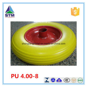 PU Foam Wheels 16 Inch Strong Wear Resistance and None Flat pictures & photos