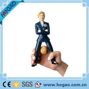 Customized Polyresin Funny Political Hillary Clinton Bobble Head pictures & photos