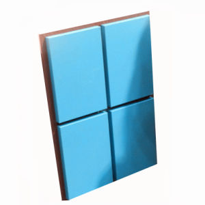 Smooth Surface PVDF Coating Aluminum Panel for Curtain Wall pictures & photos