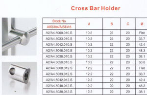 High Quality Cross Bar Holder pictures & photos