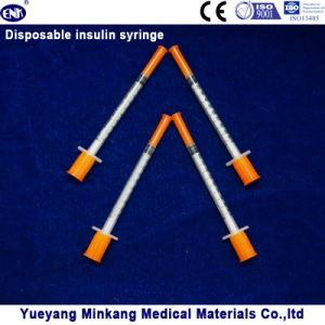 Disposable Insulin Syringe 1cc (ENK-YDS-017) pictures & photos