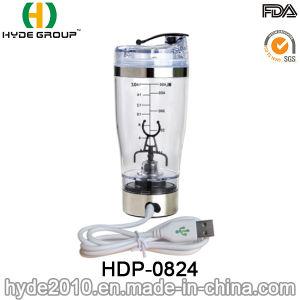 Popular Plastic 9000rpm Electric Vortex Shaker Bottle, BPA Free Plastic Electric Protein Bottle (HDP-0824) pictures & photos