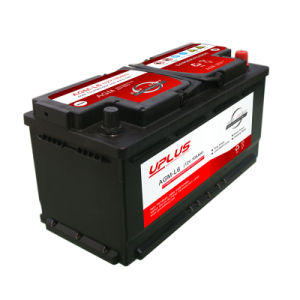 AGM-L6 Wholesale 12V 105ah Automotive Battery in Factory Price pictures & photos