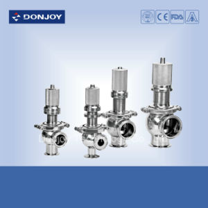 Pneumatic Welded Sanitary Safety Valve pictures & photos